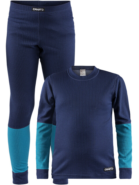 Craft Baselayer Set - Set de sous-vêtements Enfant - bleu